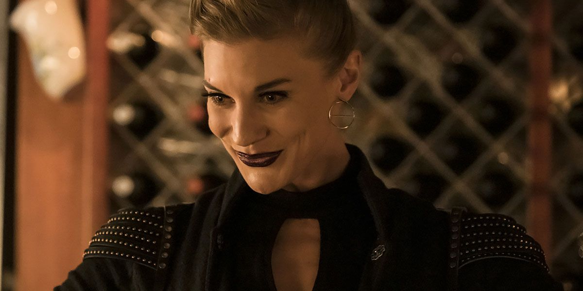 The Flash Photos Debut New Look for Katee Sackhoff's Amunet Black