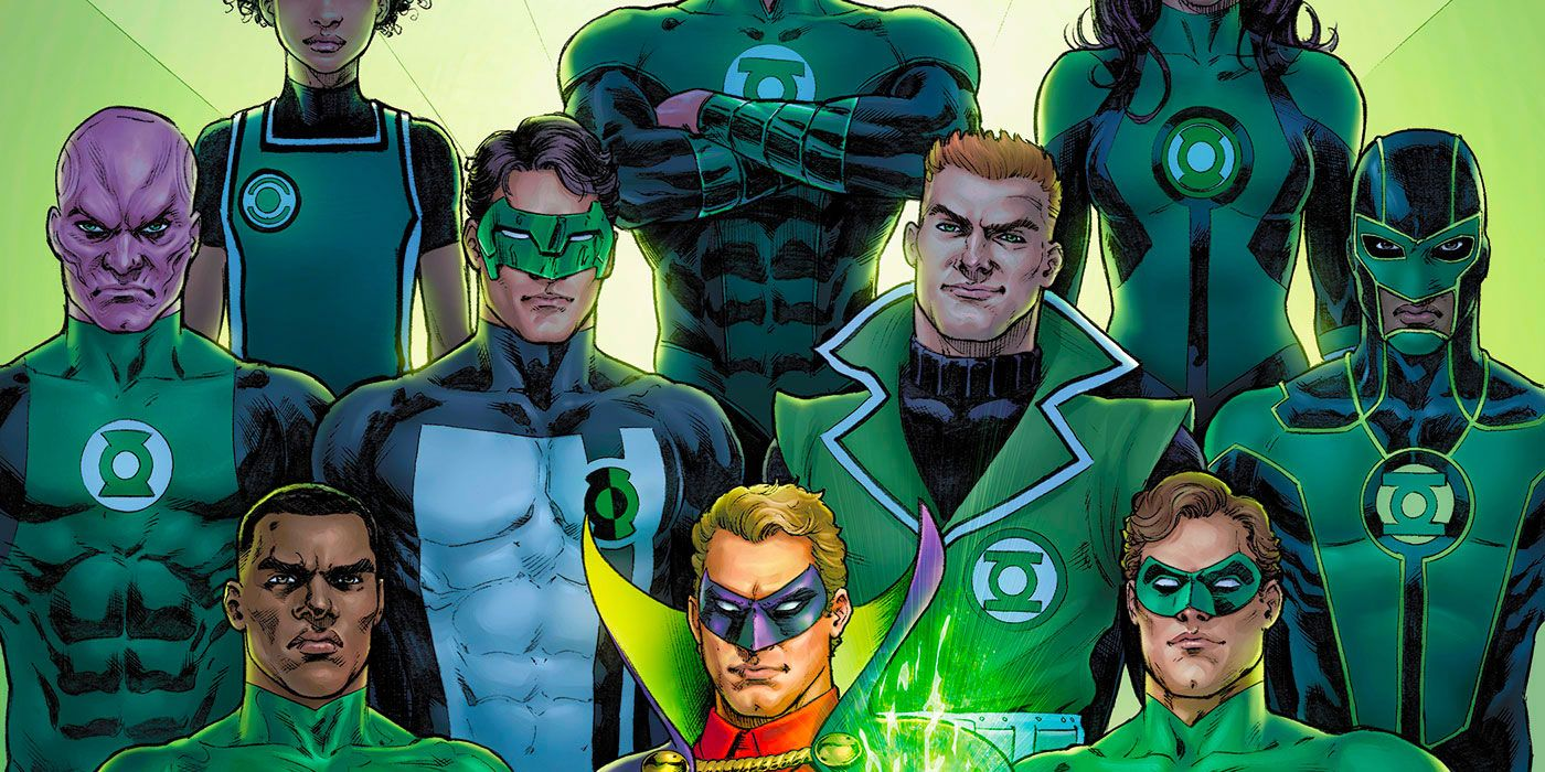 The new preview contains the Green Lantern upgrade