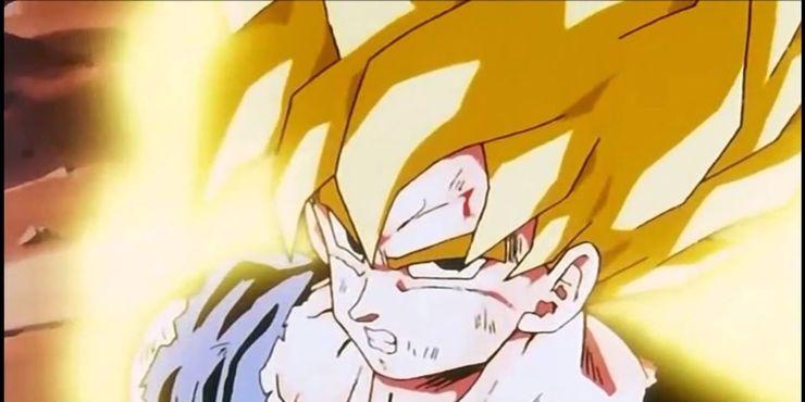 Goku turns Super Saiyan.jpg?q=50&fit=crop&w=740&h=370&dpr=1 - Evangelion Merch