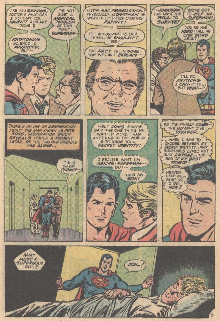 action comics 457 1 - Cuando Pete Ross descubrió la identidad secreta de Superman