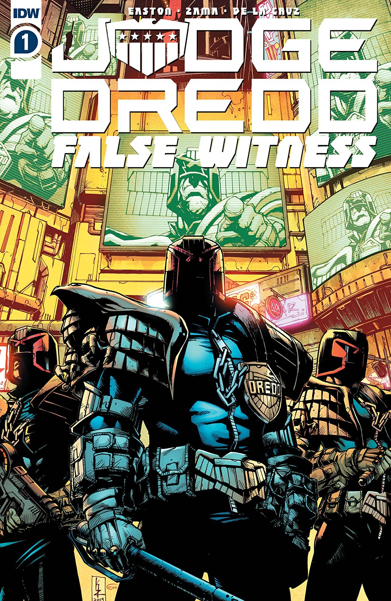 REVIEW: Judge Dredd: False Witness #1 is a Harrowing Dredd Yarn