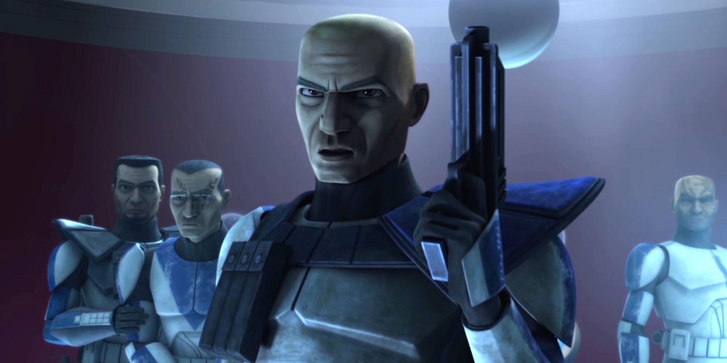 """Captain Rex (Dee Bradley Baker) in """"The Clone Wars"""""""