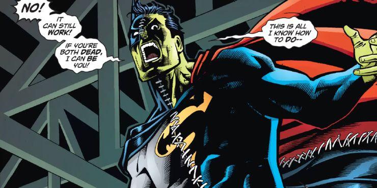 Composite Superman 1 - El enemigo más raro de Superman y Batman fue la mezcla original de ambos superhéroes de DC
