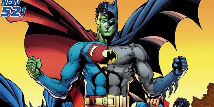 Composite Superman - El enemigo más raro de Superman y Batman fue la mezcla original de ambos superhéroes de DC