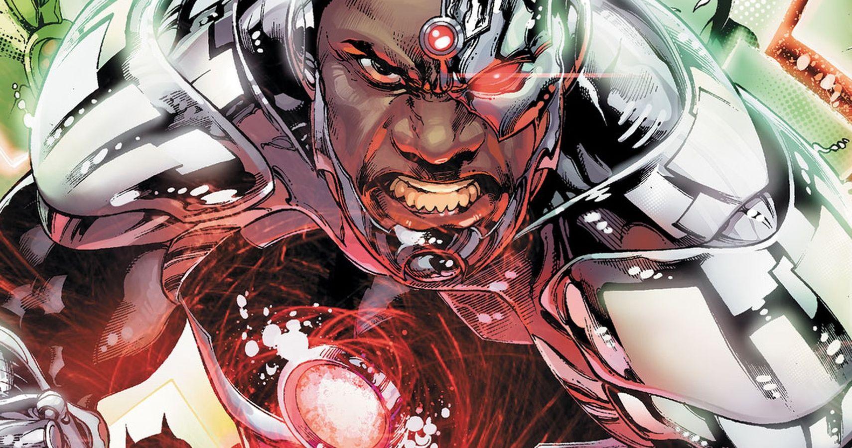 Cyborg comic book characters