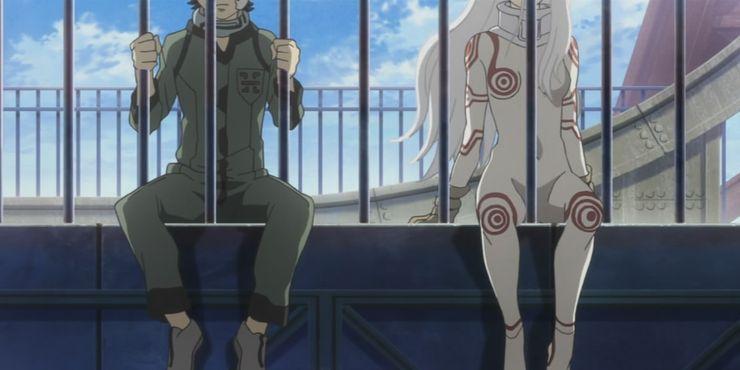 Deadman Wonderland Shiro And Ganta
