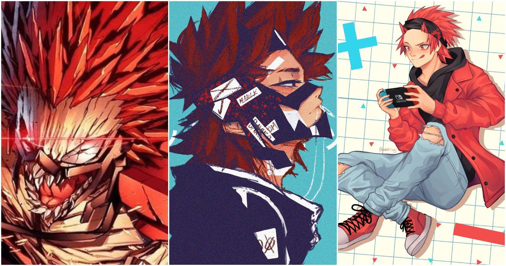 My Hero Academia 10 Incredible Pieces Of Eijiro Kirishima Fan Art You Need To See