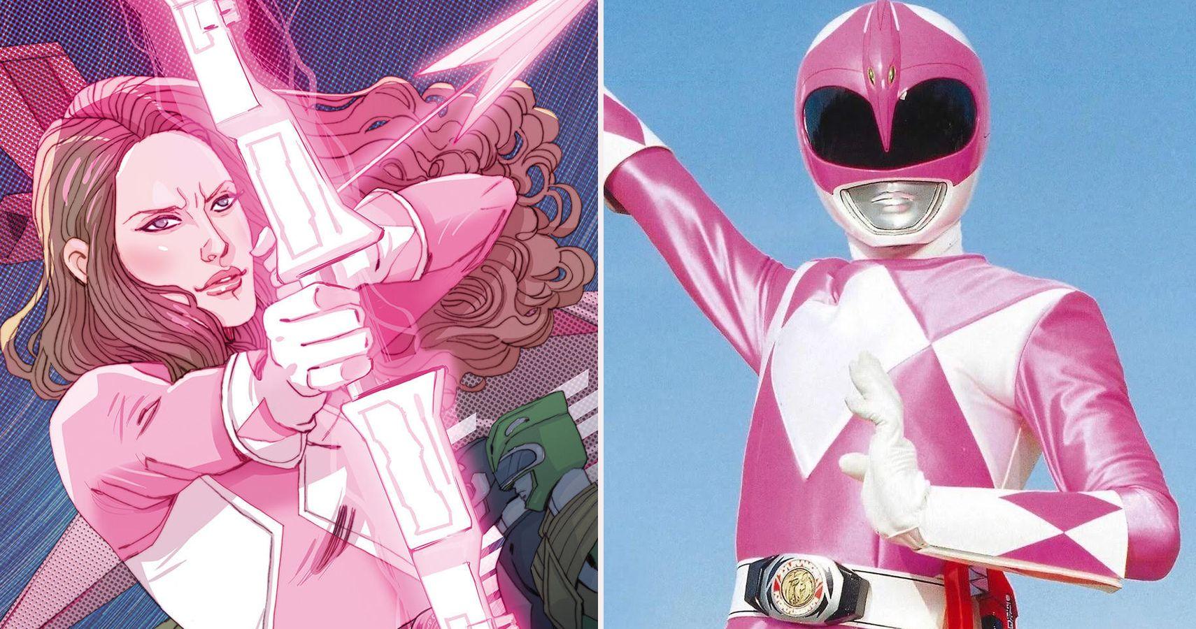 Ranger power rangers pink Pink Power: