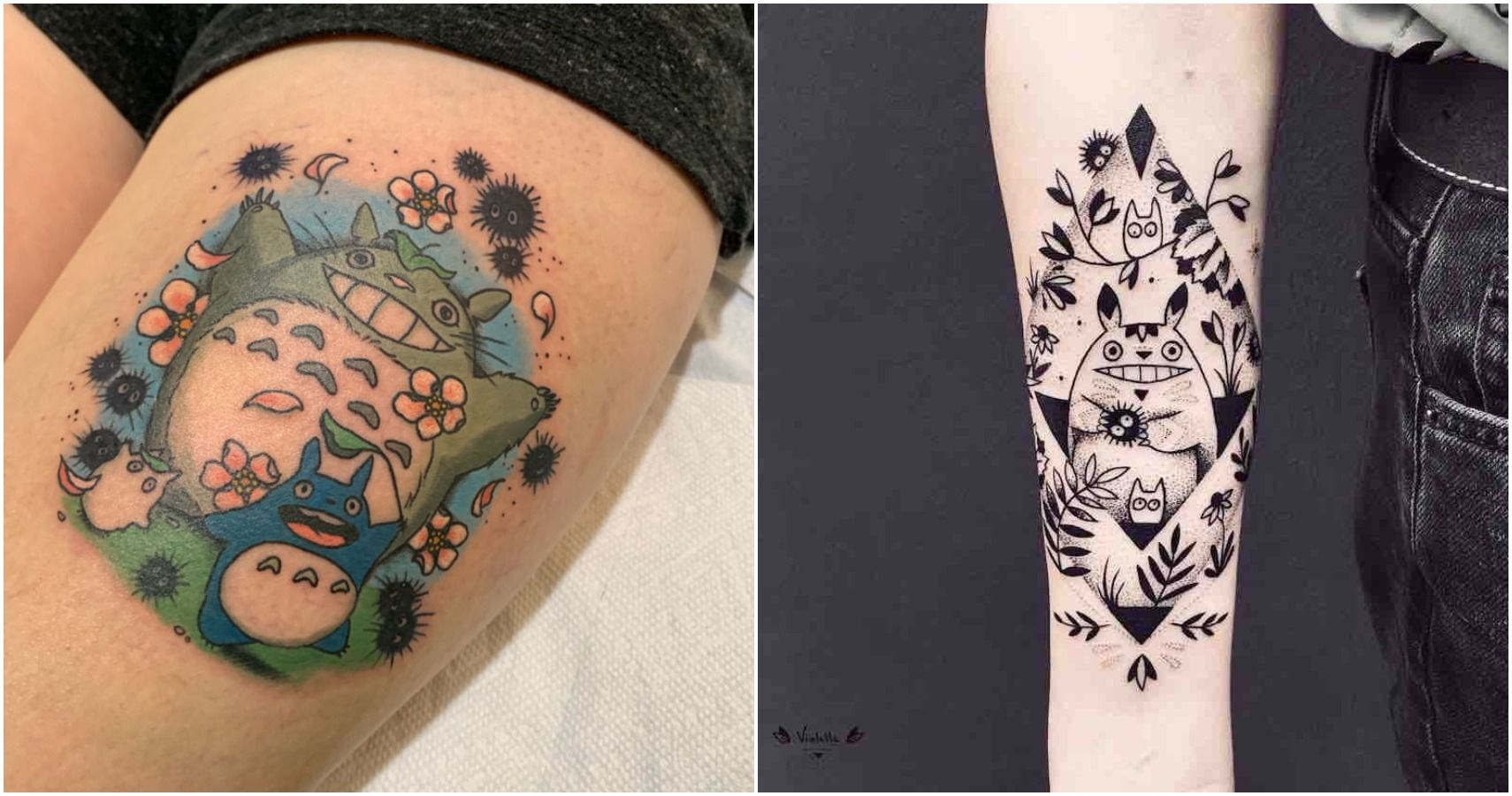 My Neighbor Totoro 10 Tattoos That Will Inspire Ghibli Fans To Get Inked