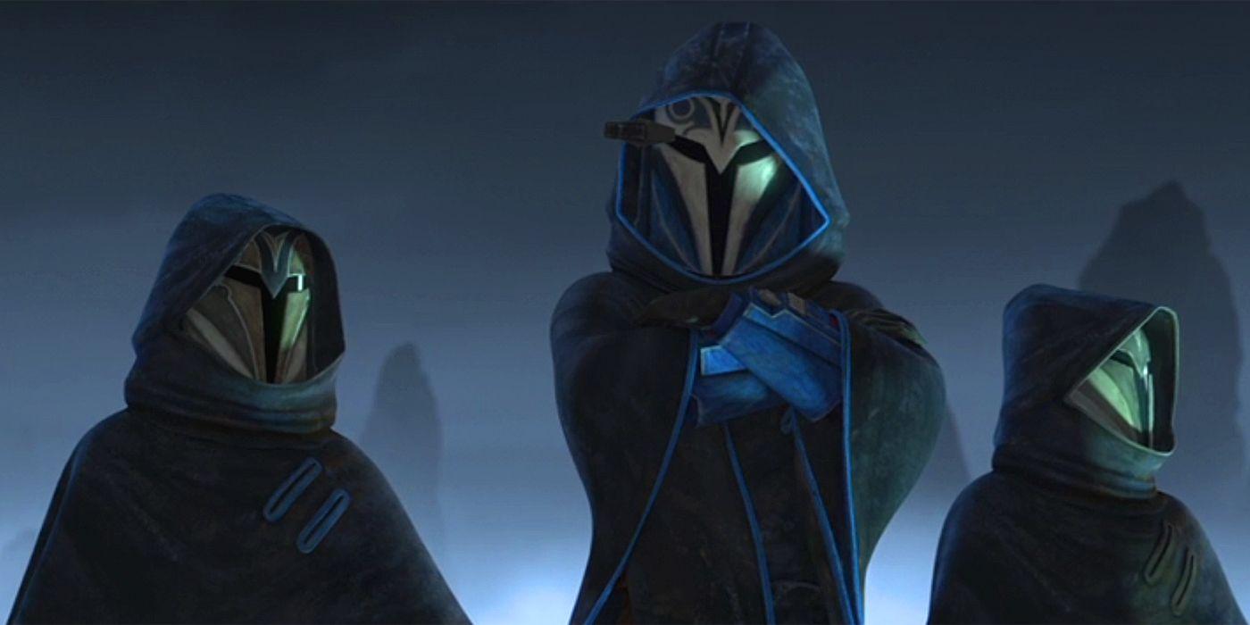 Star Wars The Clone Wars A Classic Mandalorian Was Spying On Ahsoka