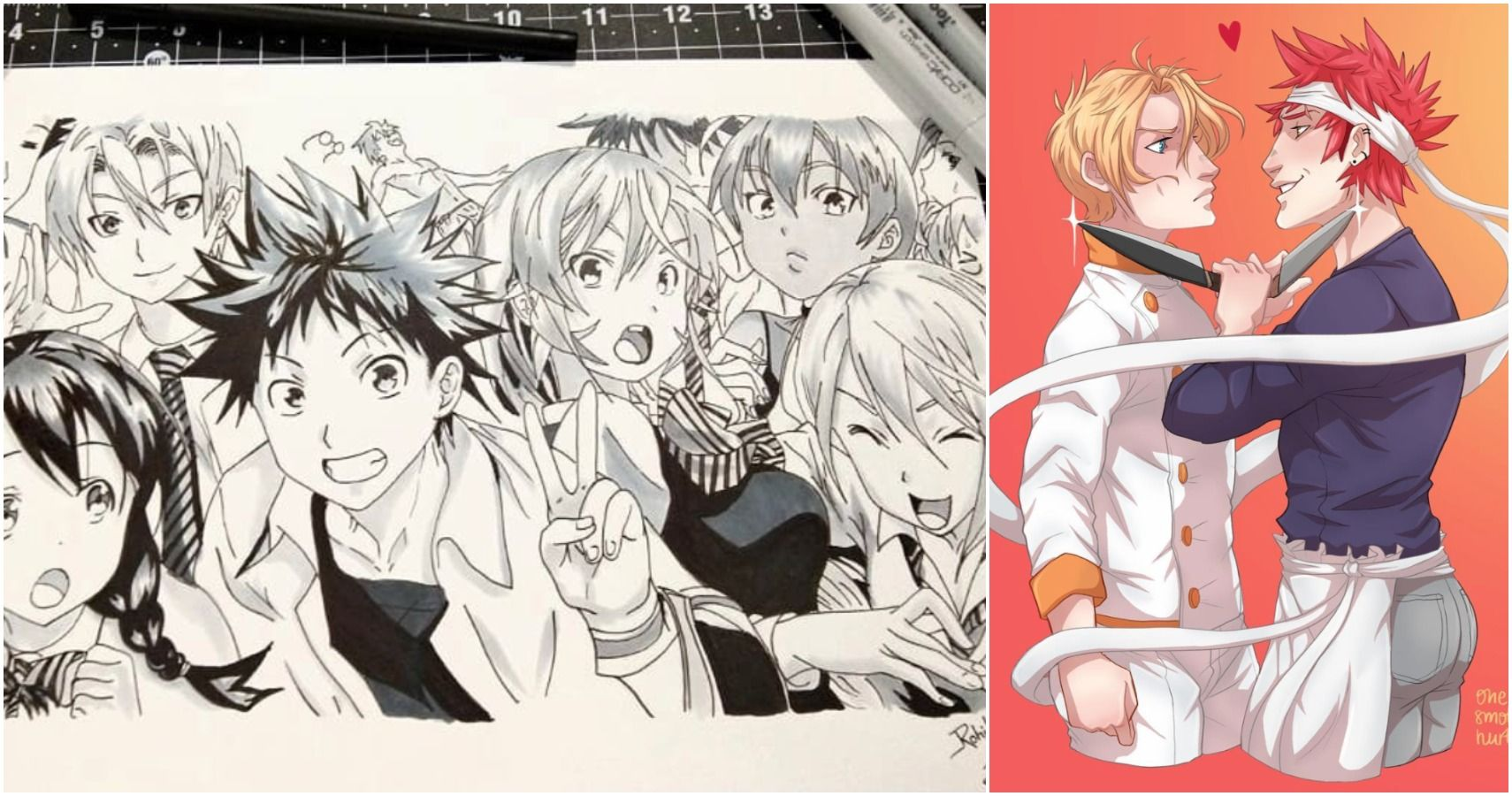 Food Wars 10 Amazing Pieces Of Fan Art You Have To See Cbr
