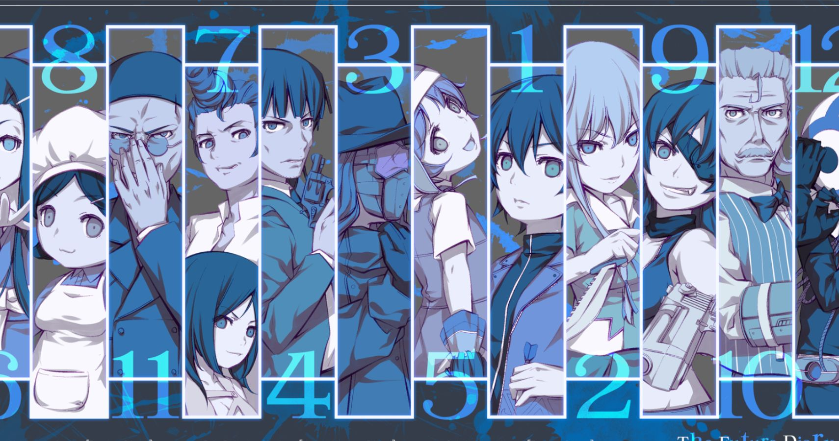 Future Diary Ranking All Of The Death Game S Players From Worst To Best