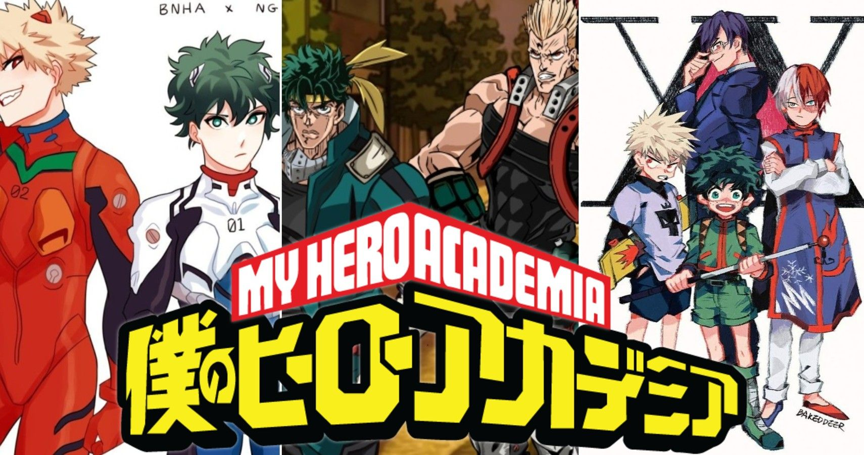 My Hero Academia 10 Awesome Fan Art Of Characters Drawn In Different Anime Styles
