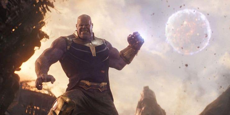 Dr. Manhattan; Watchmen; Marvel; Thanos