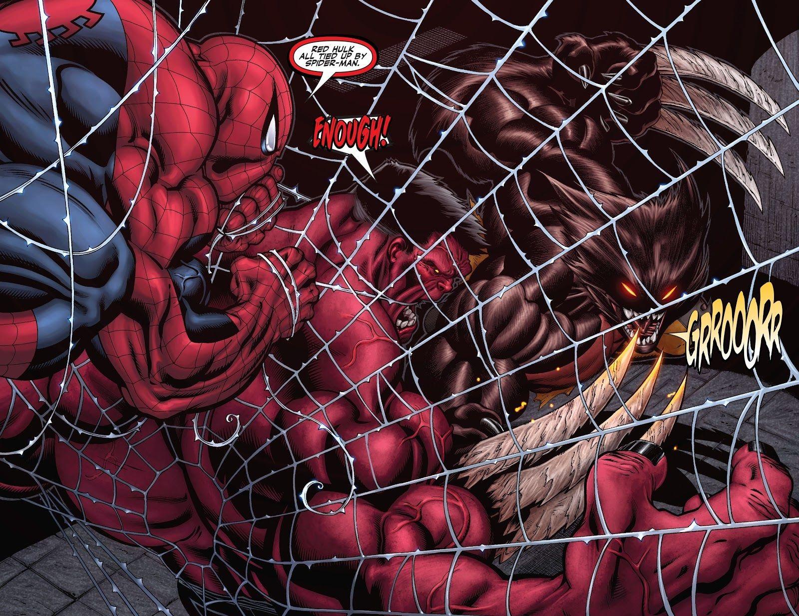 Olhando para trás: A identidade do Hulk Vermelho é finalmente revelada 1