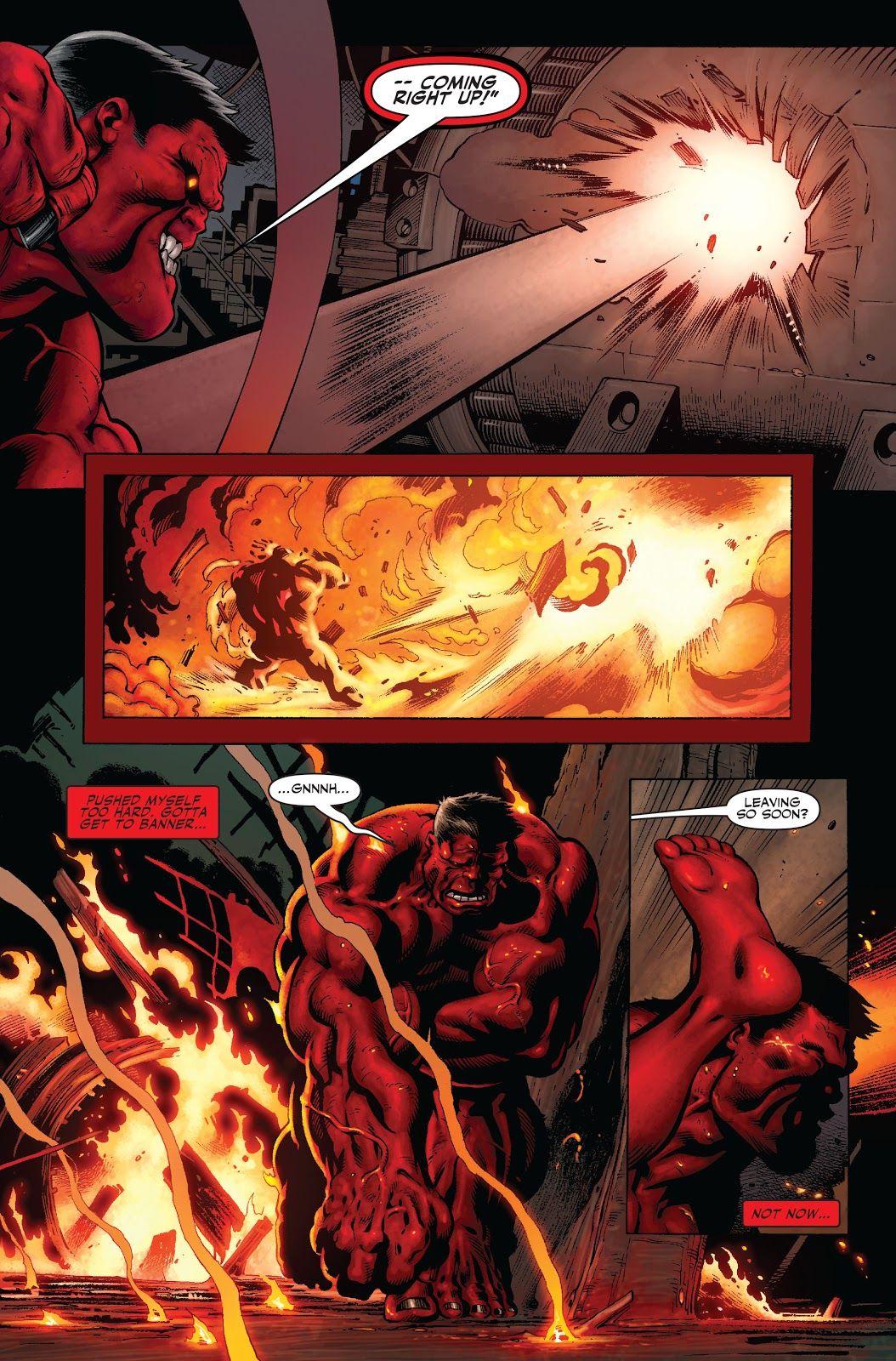 Olhando para trás: A identidade do Hulk Vermelho é finalmente revelada 3