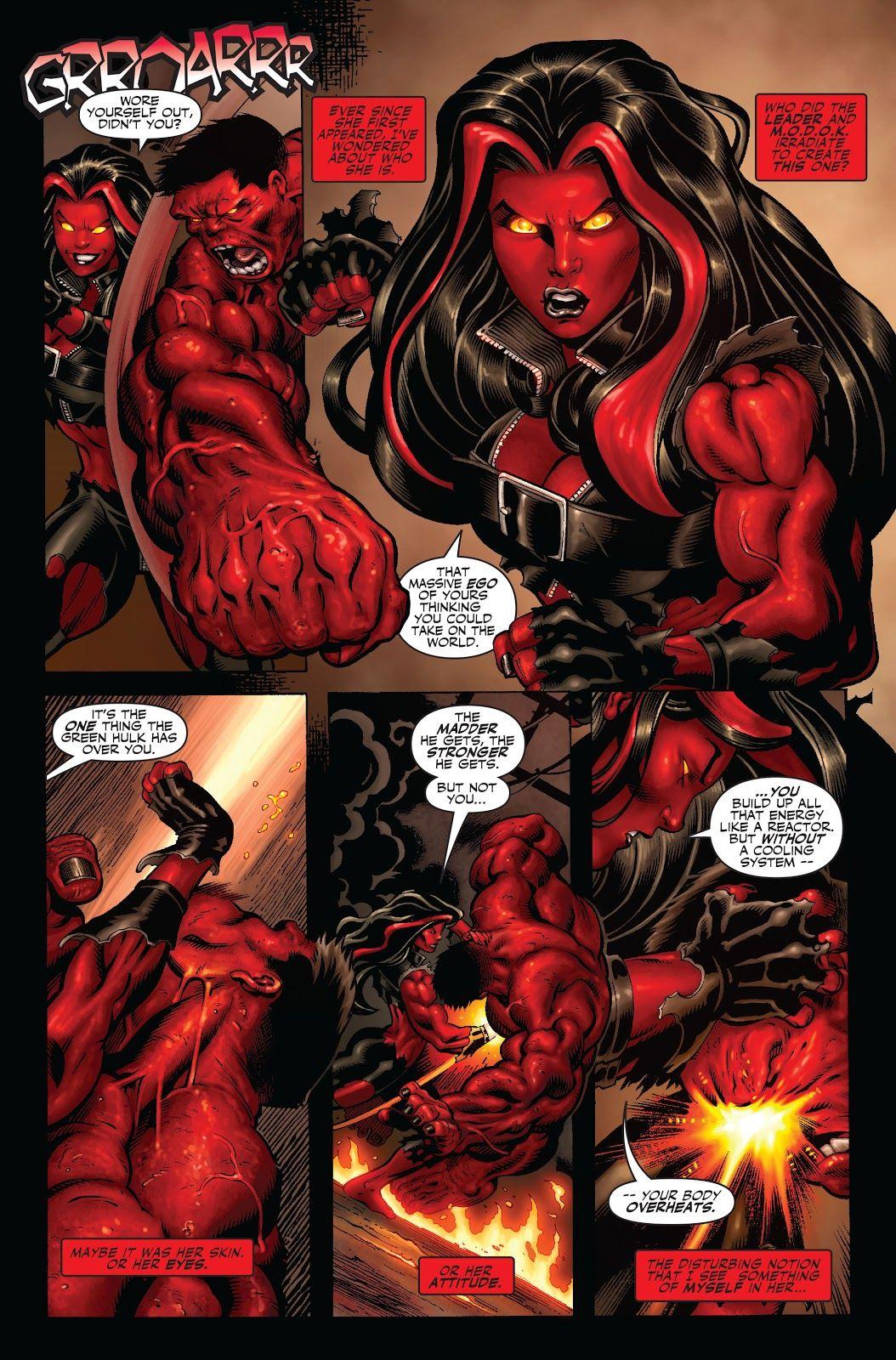 Olhando para trás: A identidade do Hulk Vermelho é finalmente revelada 4
