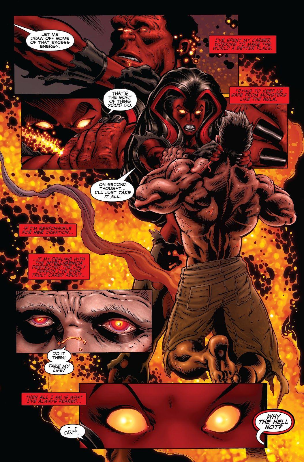 Olhando para trás: A identidade do Hulk Vermelho é finalmente revelada 5