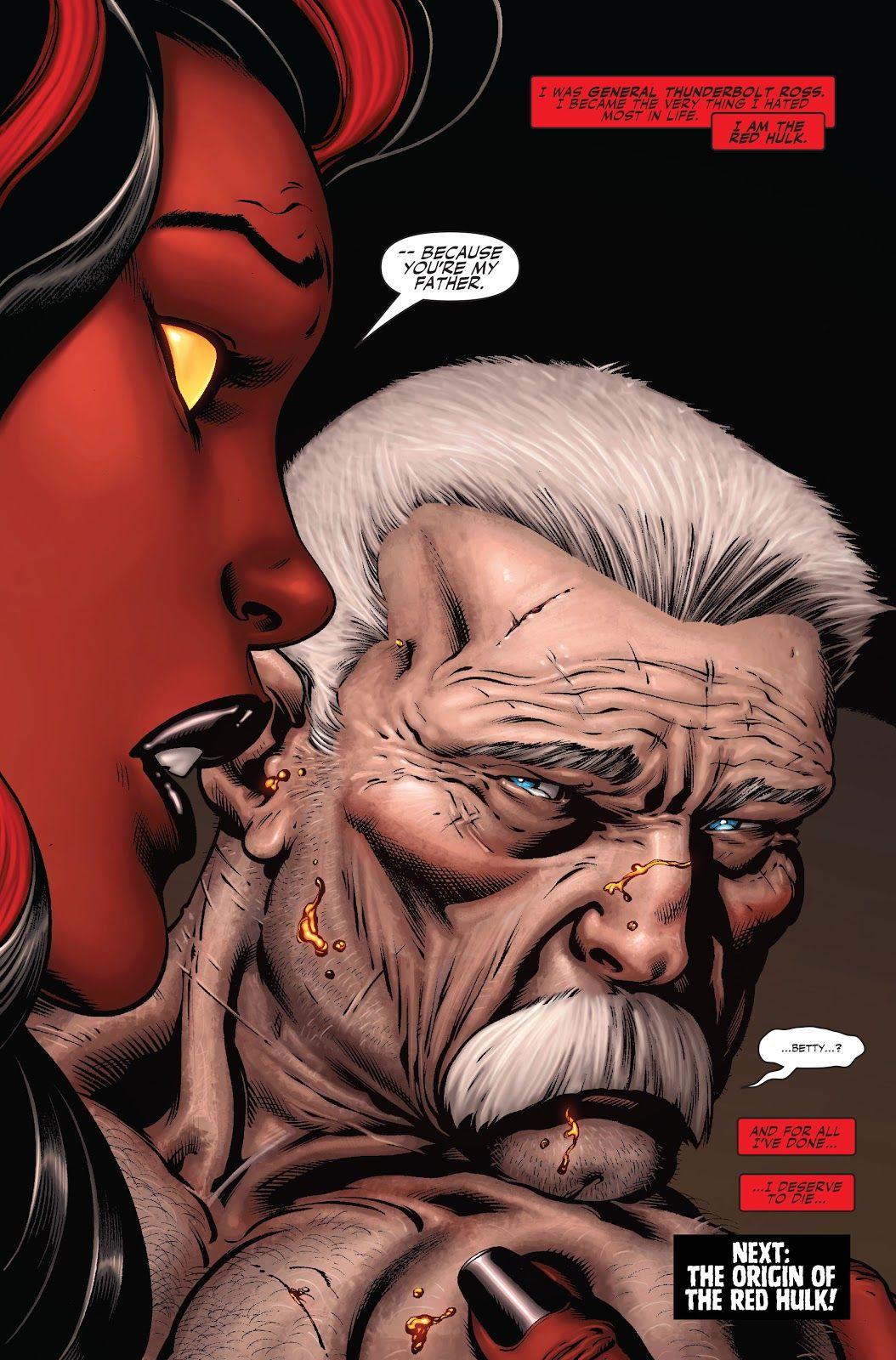 Olhando para trás: A identidade do Hulk Vermelho é finalmente revelada 6