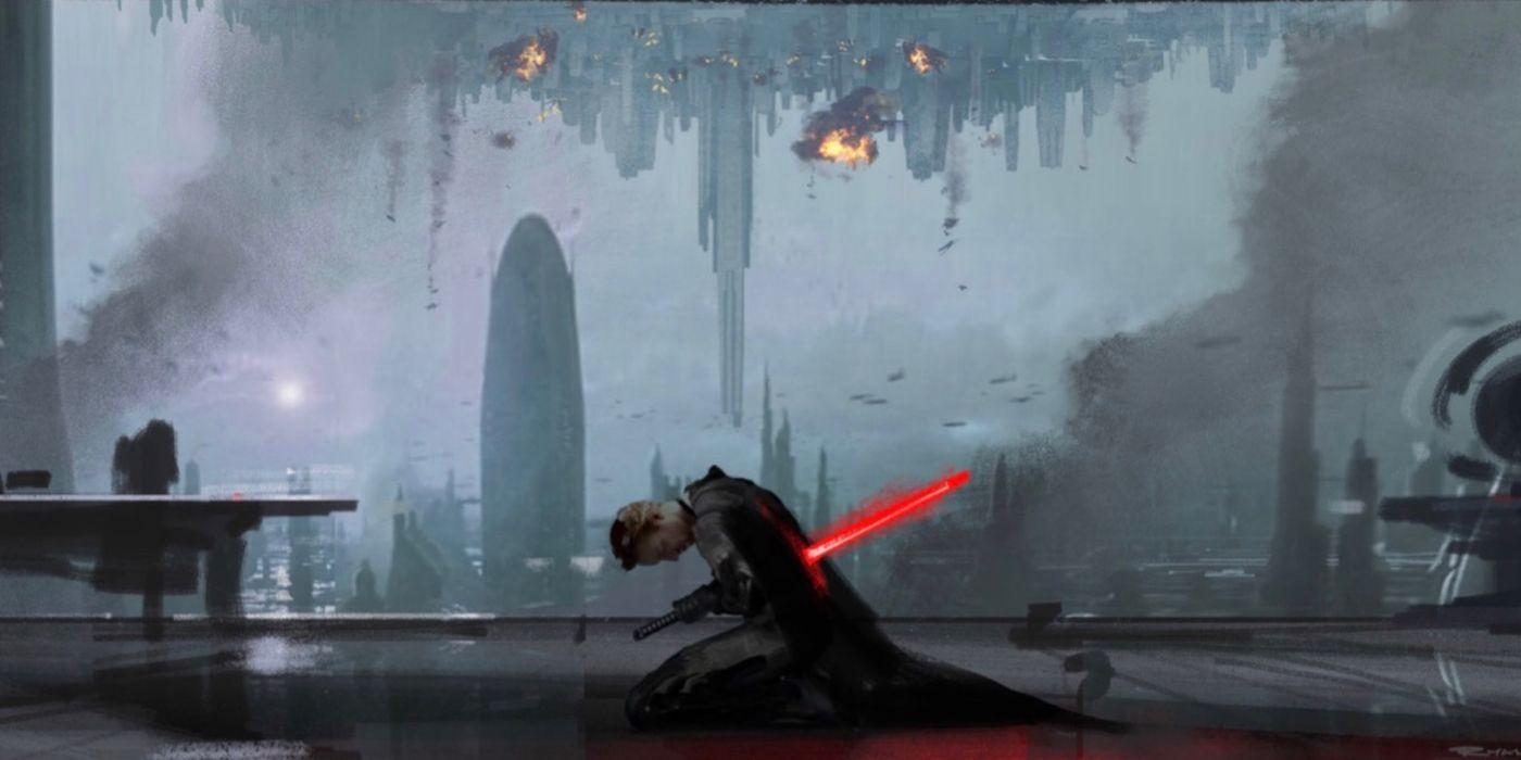 Star Wars: Skywalker's Saga's Biggest Coward Was Almost a Tragic Sith Lord