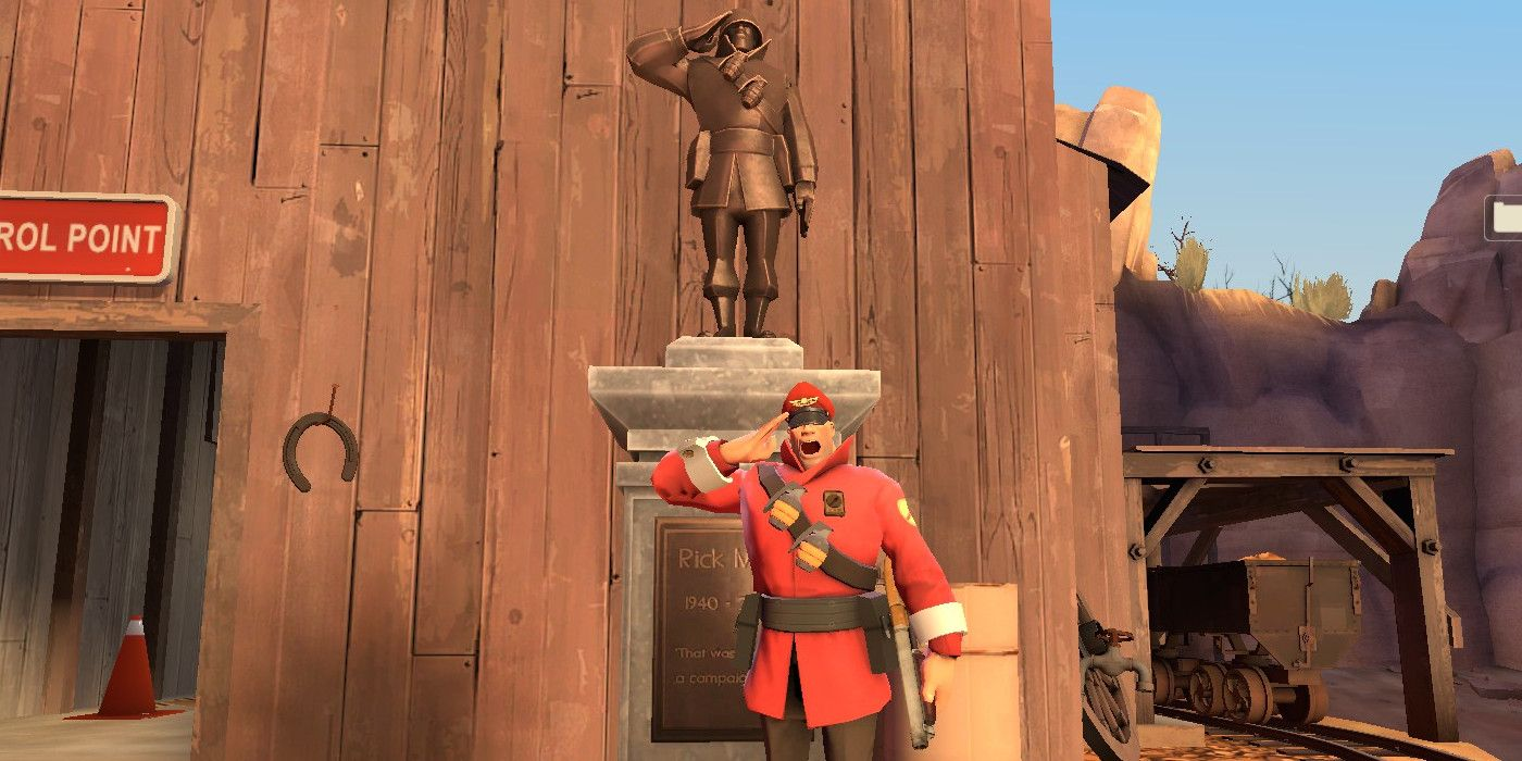 How Valve Paid Tribute To Team Fortress 2 U0026 39 S Rick May