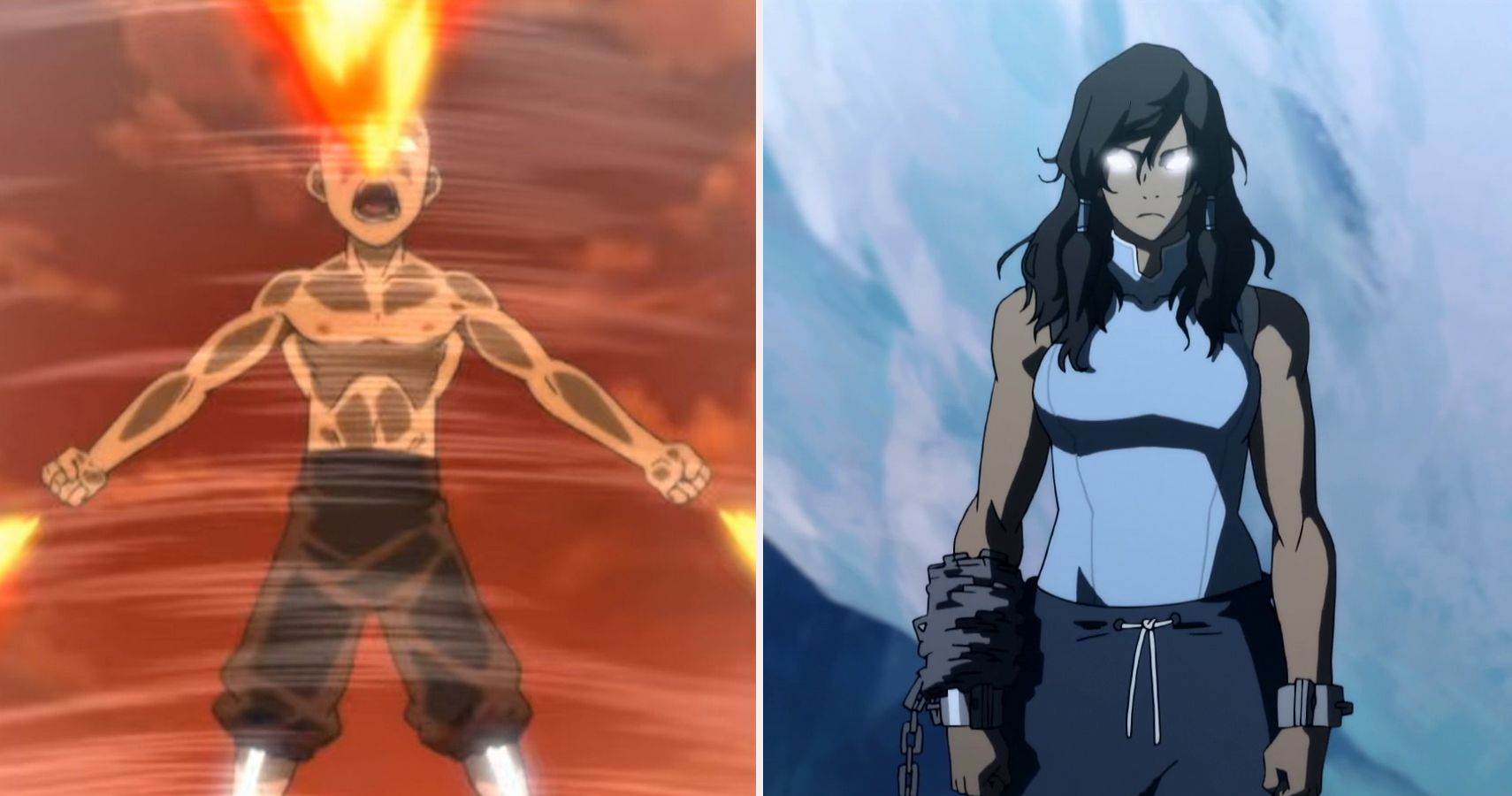 Avatar The Last Airbender 5 Times Aang Was The Most Powerful Avatar 5 Times It Was Korra