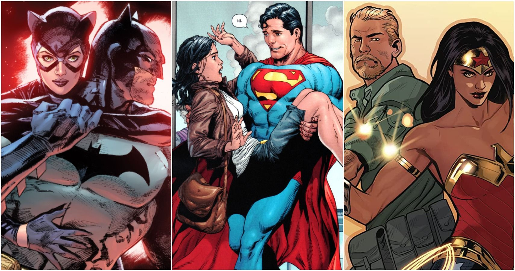 5 DC Couples With The Same First Appearance In Comics (& 5 That Came Much Later)