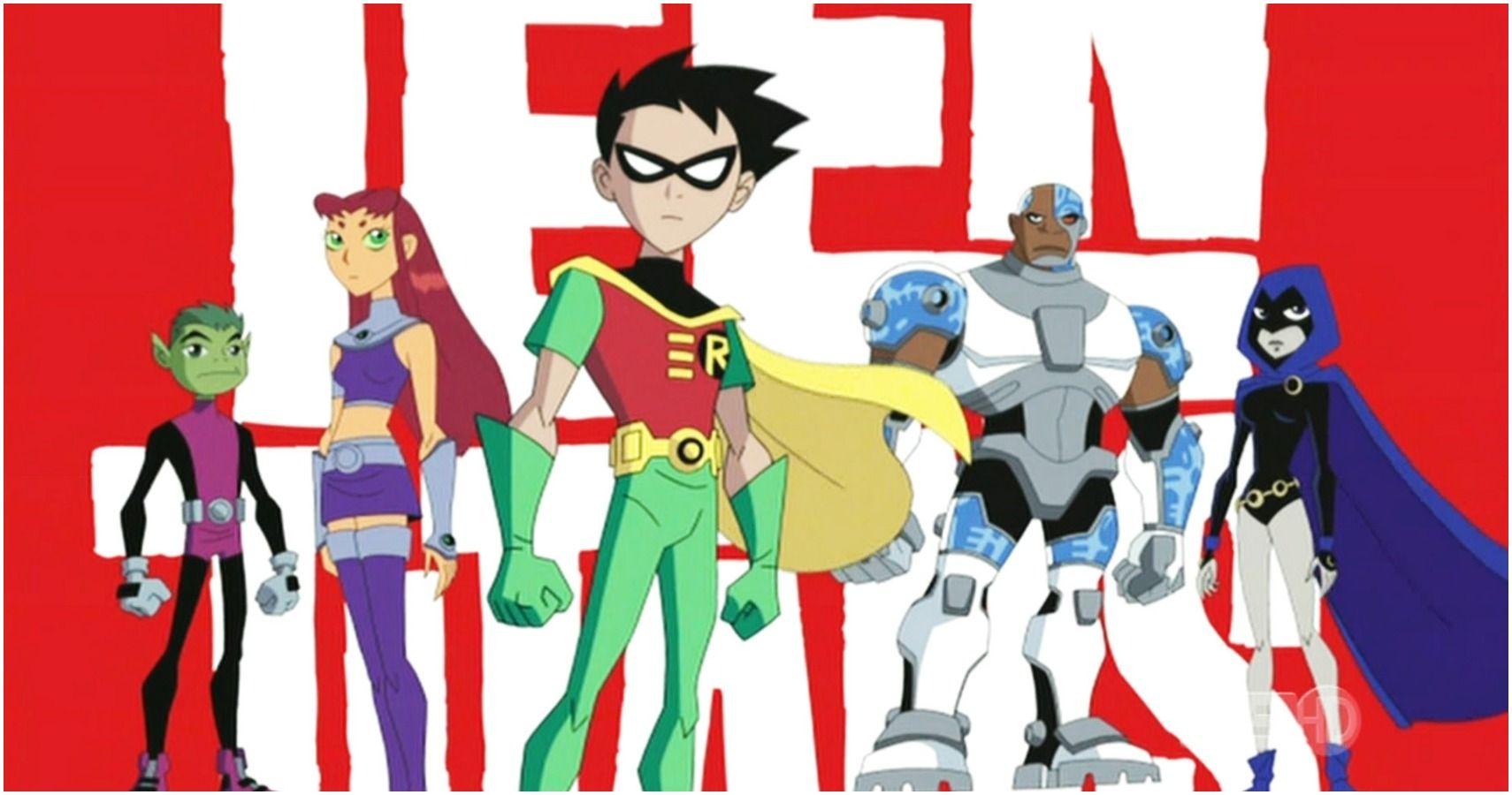 ArtStation - Casual Teen Titans , Tomas Gutierrez