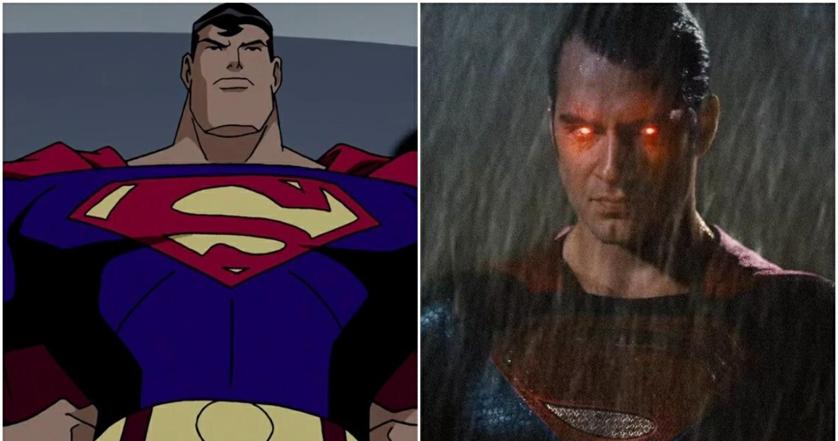 Dcau Superman Vs Dceu Superman Who Is Better Cbr
