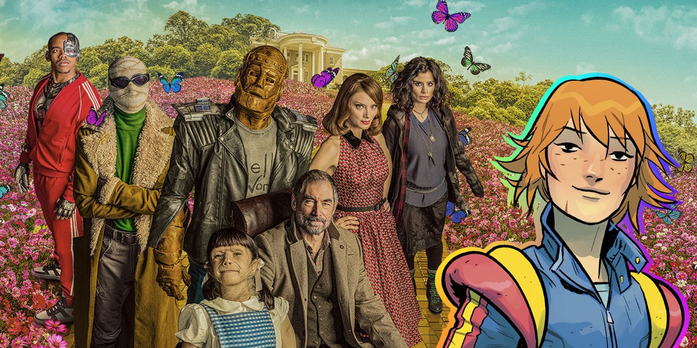 Doom Patrol Danny S Transformation Could Pave The Way For Another