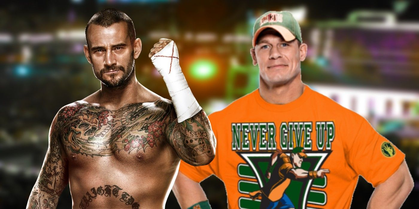 WWE: John Cena and CM Punk Spent This Week Reminiscing About a CLASSIC Bout