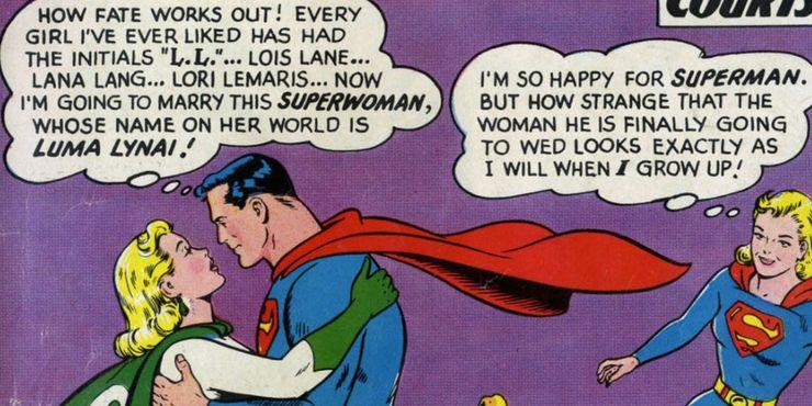 Superman Luma Lynai Action Comics 289 - Ranking de los 10 amores más grandes de Superman