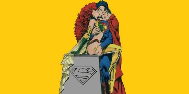Superman Maxima Making Out - Ranking de los 10 amores más grandes de Superman