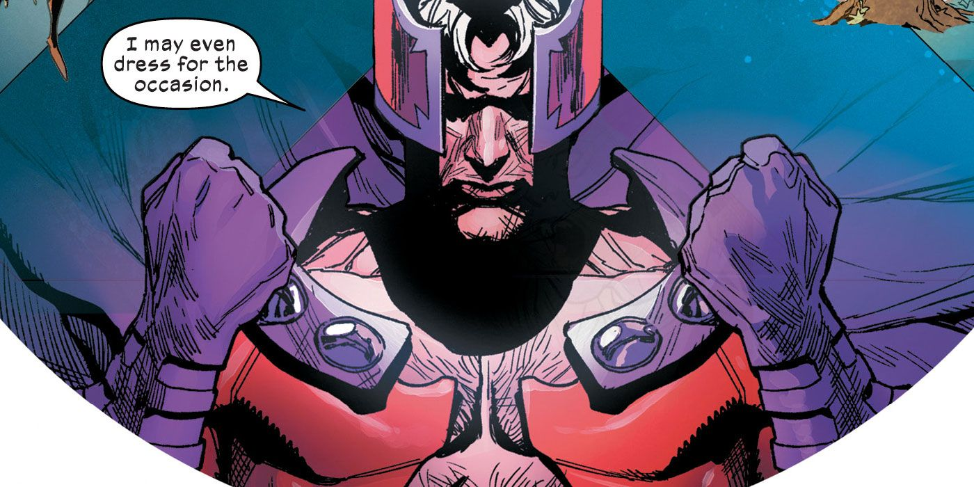 Magneto Returns to His Classic Costume for Marvel's X of Swords Event