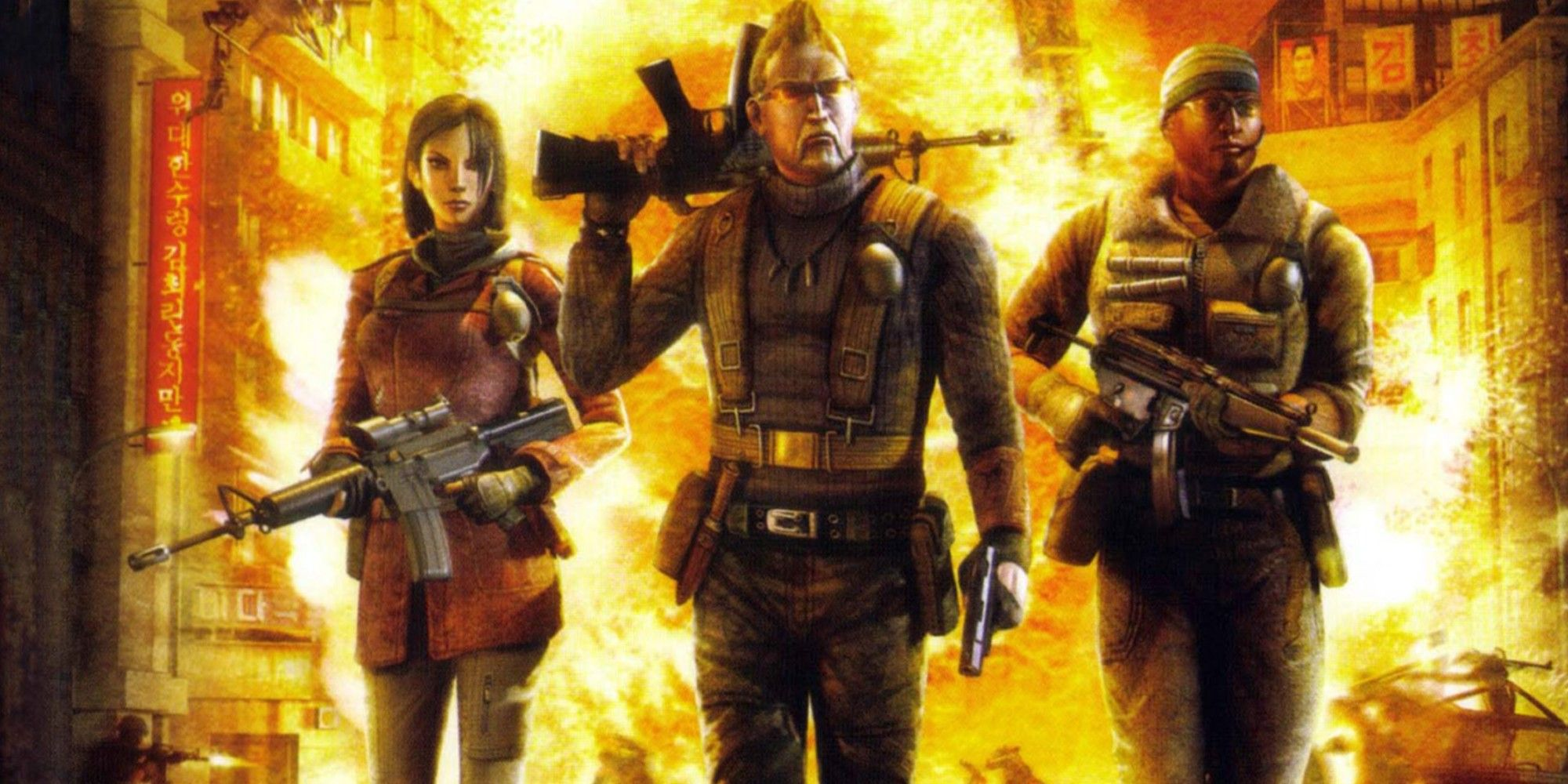Mercenaries: The Open-World Action Series That Died Too Soon