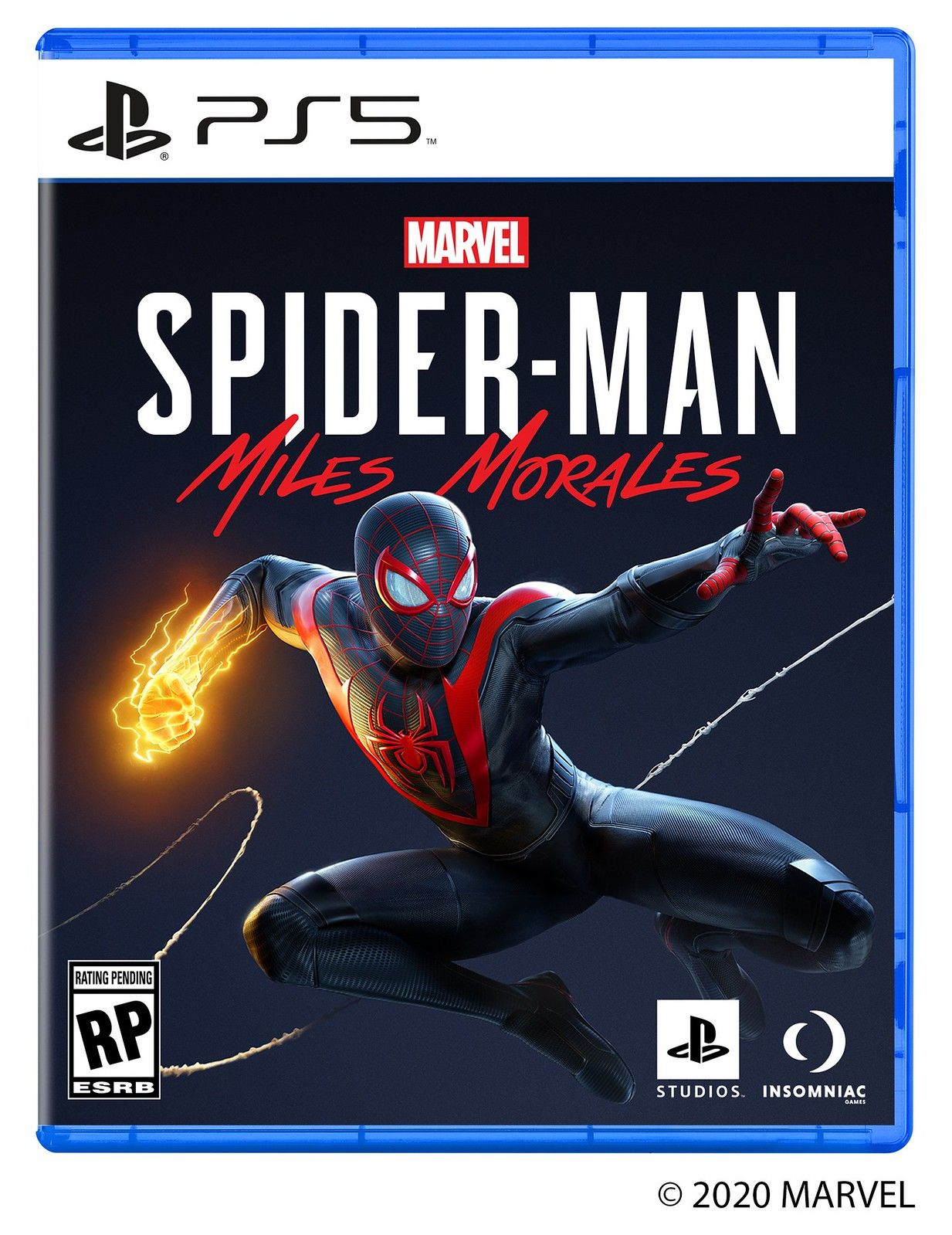 Spider-Man: Miles Morales entra em ação no PlayStation 5 Box Art 1