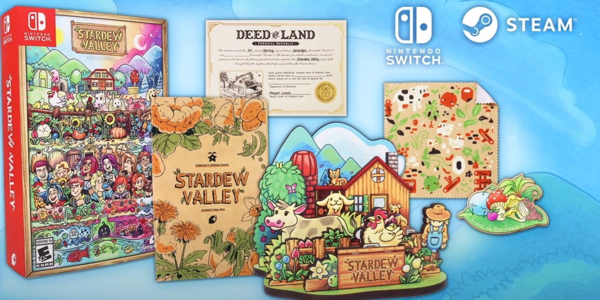 Stardew Valley Will Receive Physical Collector's Edition Release Later This Year