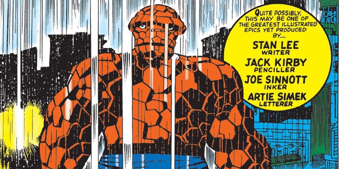 What Was So Special About the Kirby/Sinnott Fantastic Four Partnership?