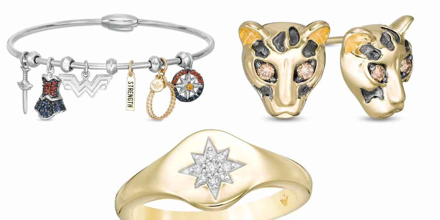 Zales Launches Wonder Woman 1984 Jewelry Line Cbr