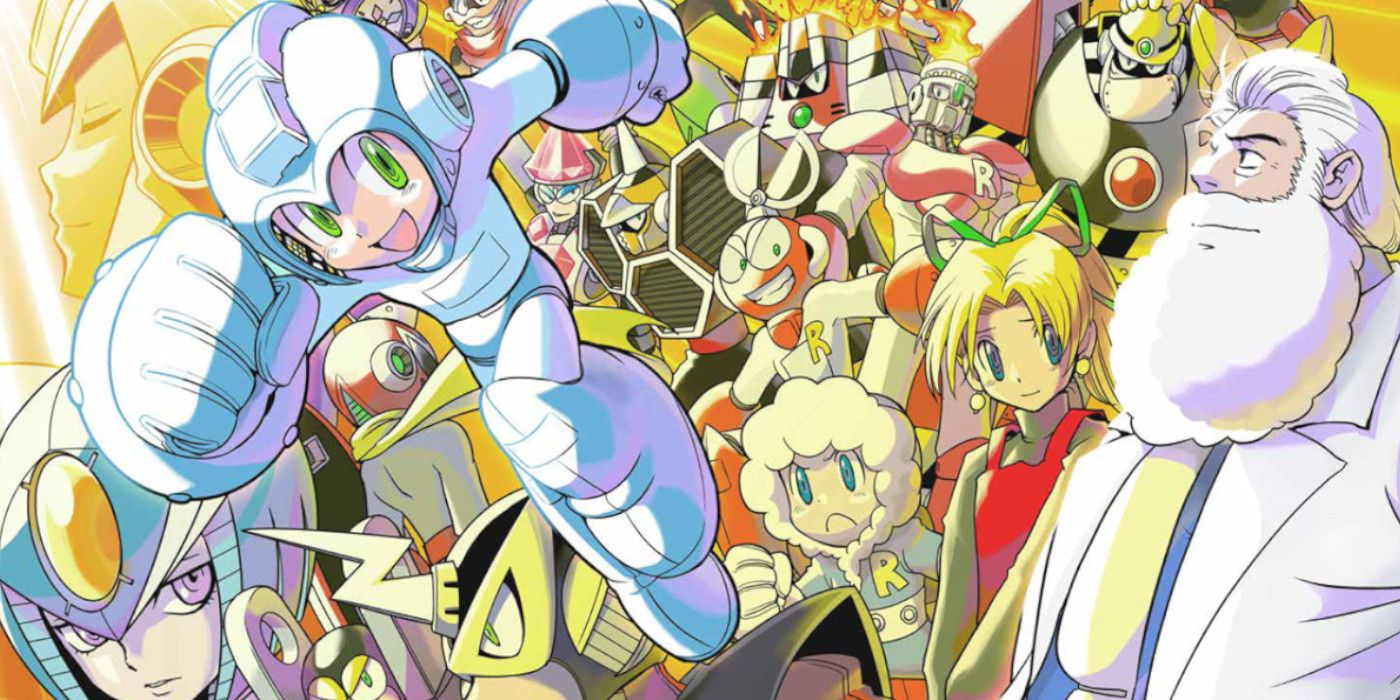 Mega Man Is a Treasure Trove for Manga Fans