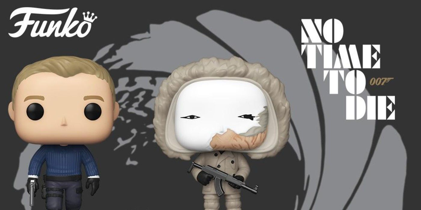 No Time to Die: James Bond's Latest Adventure Gets the Funko Pop! Treatment