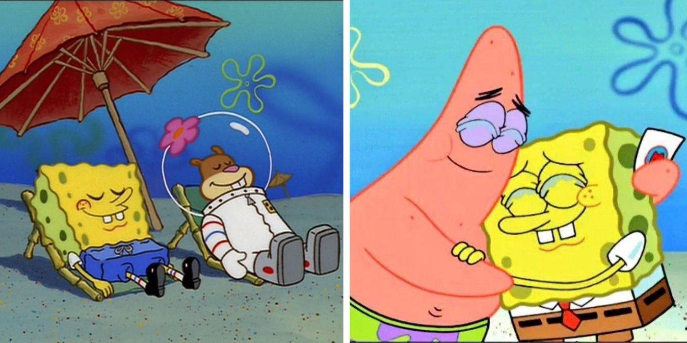 Sandy spongebob and Sandy, SpongeBob,