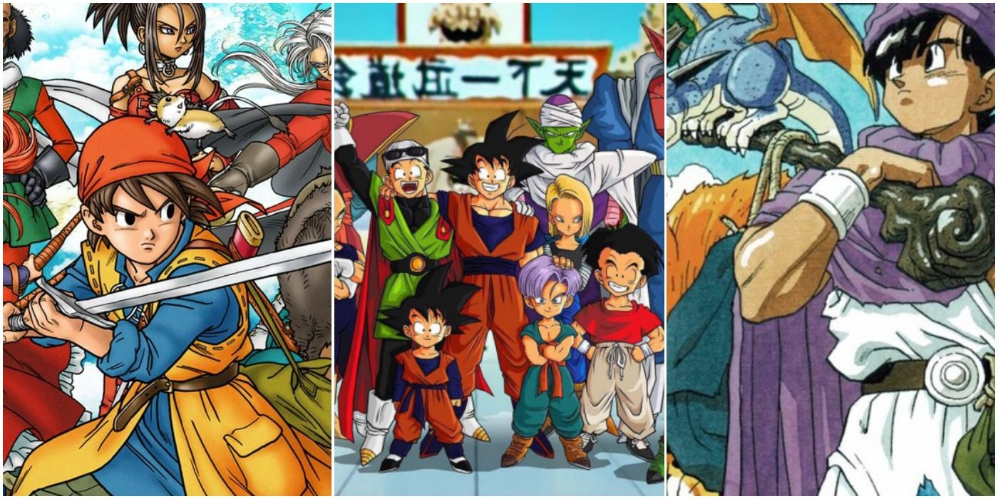5 Ways Dragon Ball Dragon Quest Are Alike 5 Ways They Re Completely Different