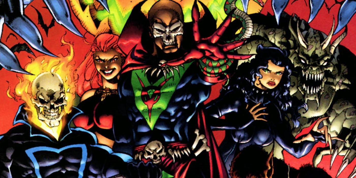 The Supernaturals: Who Are Marvel's Forgotten Dark Avengers?