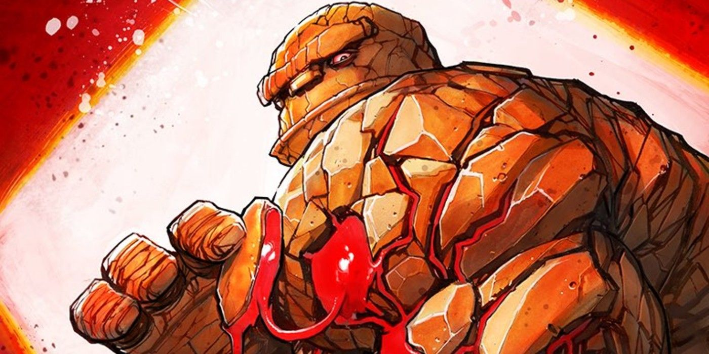 Fantastic Four: Road Trip's Thing-Themed Body Horror Variant by David Nakayama is Genuinely Disturbing