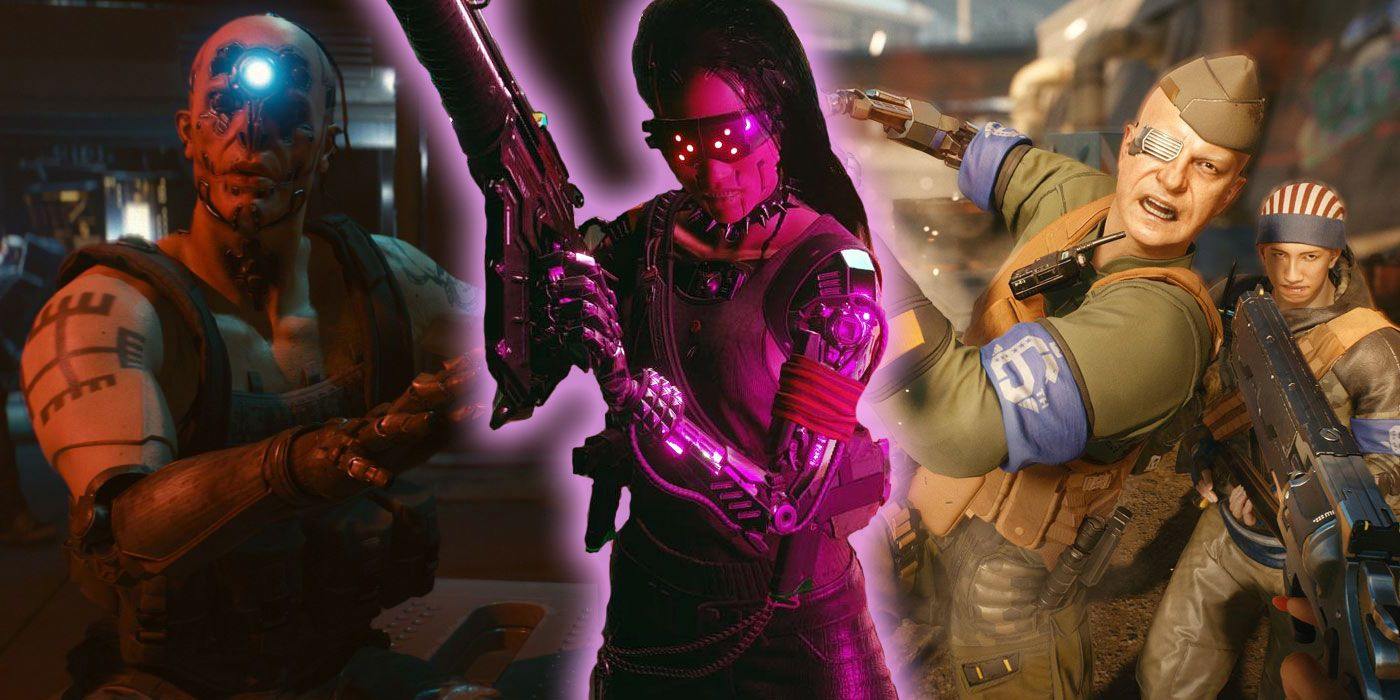 Cyberpunk 2077: Top 5 Criminal Gangs of Night City