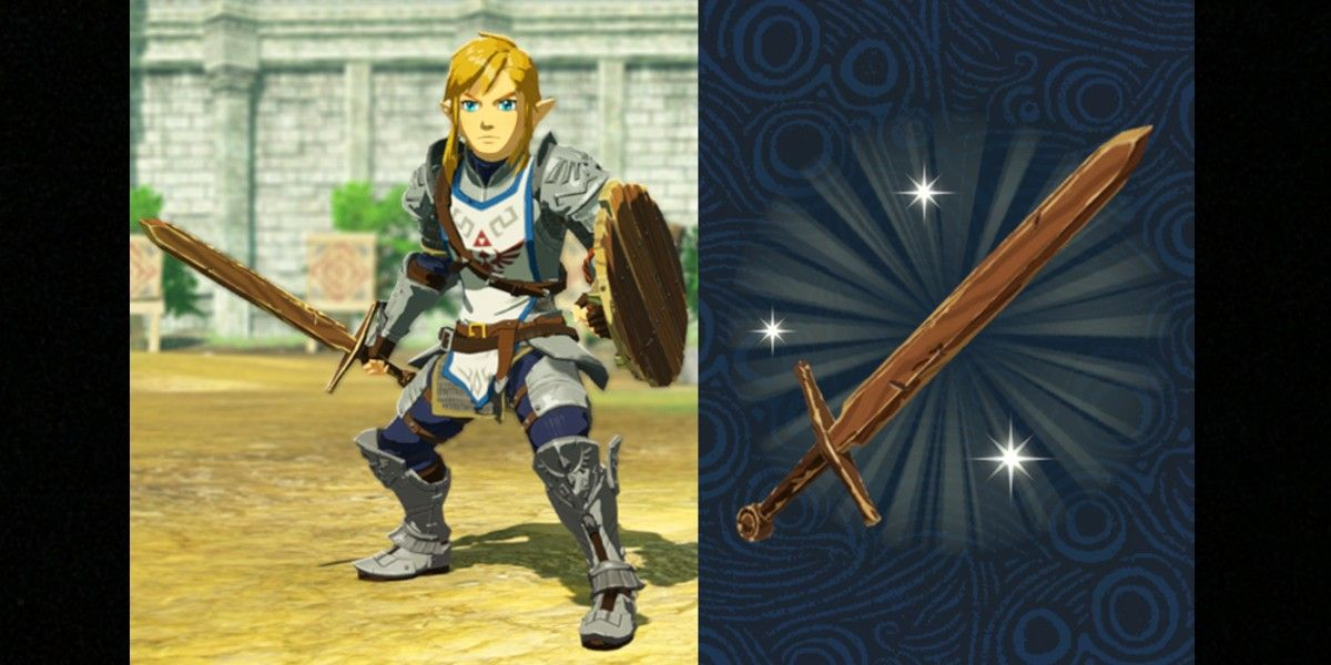 Hyrule Warriors Age Of Calamity Breath Of The Wild Save Data Unlocks Age Of Calamity Sword
