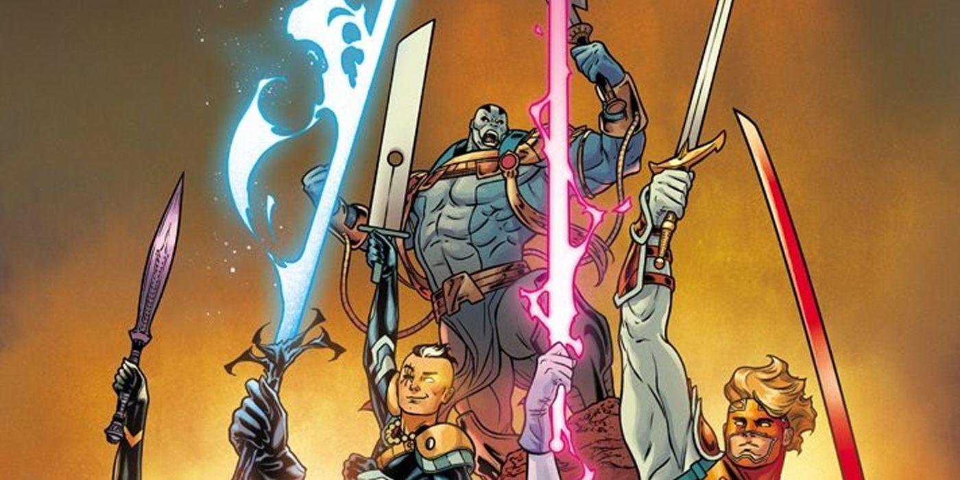 X of Swords Creative Team Reveals How They Decided Who Got a Sword