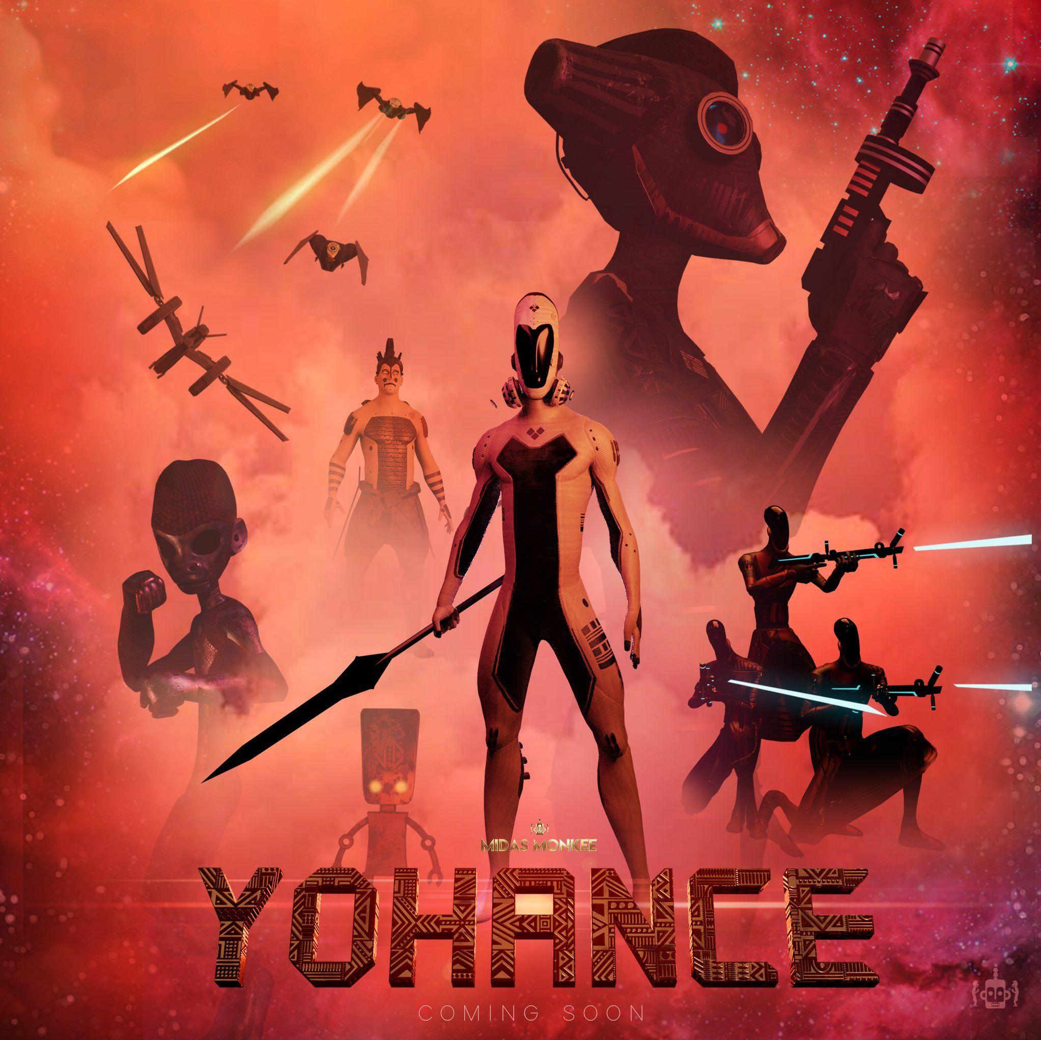 Yohance: o romance gráfico da ópera espacial africana lança seu primeiro trailer 1