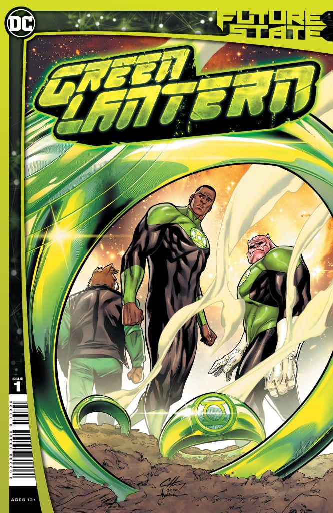 Future State's Green Lantern Puts John Stewart Back in the Spotlight
